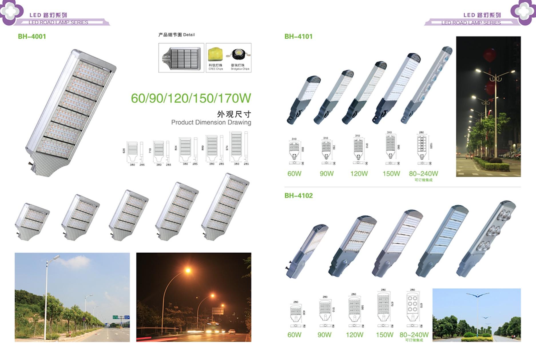 雷能LED路灯系列